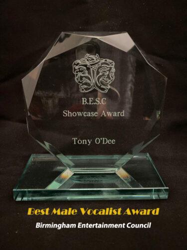Birmingham - Best Male Vocalist